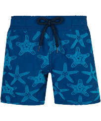 Boys Others Printed - Boys Swim Trunks Starfish Dance Flocked, Goa front