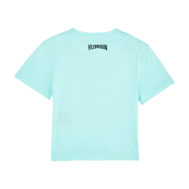 Vilebrequin - Boys Cotton T-shirt Tel père, tel fils - 2