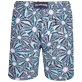 Men Long classic Printed - Men Long swimtrunks Oursinade, Navy back