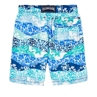 Boys Others Printed - Boys Swimtrunks Vague Heritage, Navy back