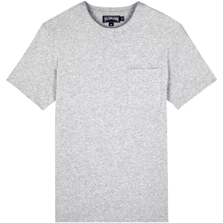Men Others Solid - Men Pima Cotton Jersey T-Shirt Solid, Heather grey front