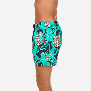 Men Classic / Moorea Printed - Octopussy et Coquillages Swim shorts, Navy supp3