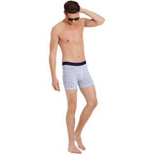 Men Others Printed - Turtles Boxer, White supp2