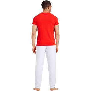 Uomo Altri Stampato - Men Cotton T-Shirt Crabs, Medicis red backworn