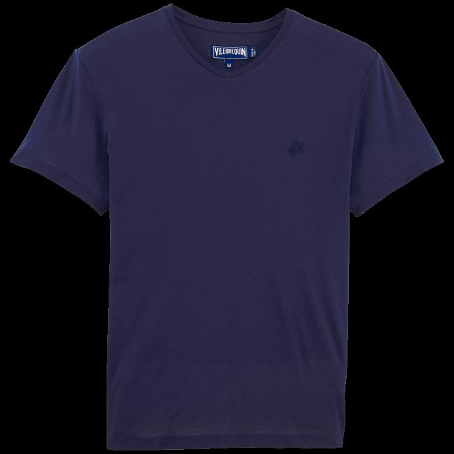 Vilebrequin - T-shirt en Coton mercerisé Homme Uni - 1