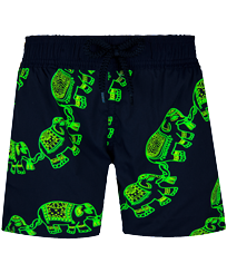 Boys Others Magic - Boys Swim Trunks Stretch Elephant Dance Glow in the dark, Navy frontworn