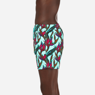 Men Classic Printed - Men Swimtrunks Paradise 3D, Lagoon supp3