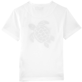 Boys Others Printed - Turtles Tee Shirt, White back