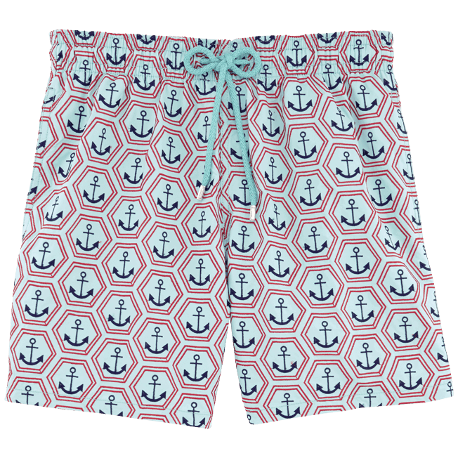 Vilebrequin - All Over Anchor Embroidery Swimwear - 1