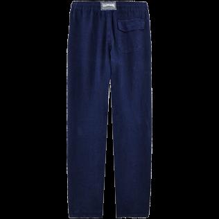Men Linen Pants Solid Vilebrequin Website Pacp613p
