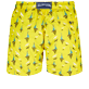Men Classic Embroidered - Men Swimtrunks Embroidered Bateaux sur l'eau - Limited Edition, Buttercup yellow back