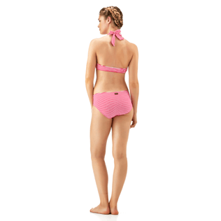 Mujer Bottoms Gráfico - Braguitas de bikini con estampado Graphic, Shocking pink supp2