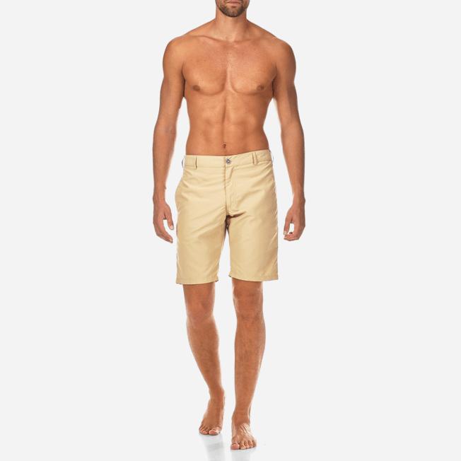 Vilebrequin - Bermuda Droit en matière maillot de bain Homme Uni - 3