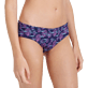 Mujer Braguitas Estampado - Women Covering Brief Bikini Bottom Coral & Fish, Azul marino supp1