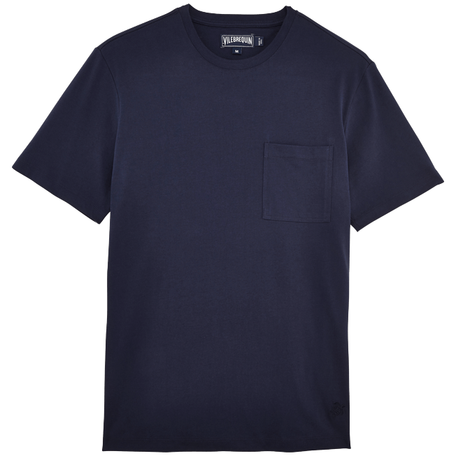 Vilebrequin - Men Pima Cotton Jersey T-shirt Solid - 1