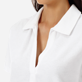 Women Others Solid - Women Terry cloth Polo Shirt Solid, White supp1
