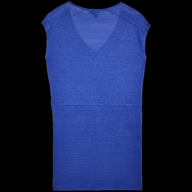Vilebrequin - Robe courte en Jersey de lin Femme Unie - 2