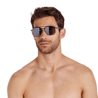 Others Solid - Unisex Sunglasses Polarized Lenses, Navy supp2