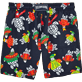 Men Classic / Moorea Printed - Sweater Turtles Swim shorts, Navy back