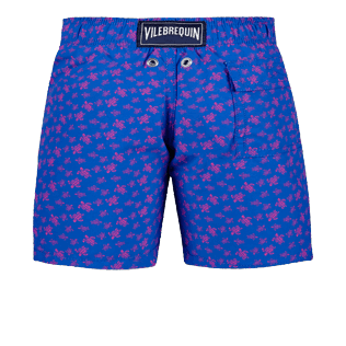 Boys Others Printed - Boys Swimwear Micro Ronde Des Tortues, Sea blue back