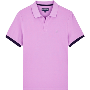 Men Others Solid - Men Cotton Polo Shirt Solid, Cyclamen front