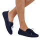 Men Others Solid - Men Shoes Solid, Navy backworn