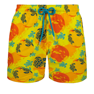 Men Classic Printed - Men swimtrunks Mappemonde Dots - Te Mana o Te Moana, Acacia front