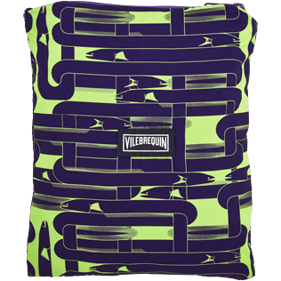 Men Ultra-light classique Printed - Men Lightweight and Packable Swimtrunks Eels Knitting, Wasabi supp5