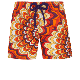 Boys Others Printed - Boys Swimwear 1975 Rosaces, Apricot front