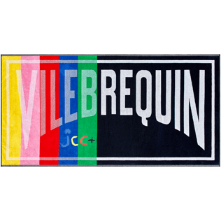 Others Solid - Multicolor beach towel - Vilebrequin x JCC+ - Limited Edition, Multicolor front