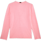 Women 009 Solid - Women Terry Cloth Cardigan Sweaters Solid, Peony back
