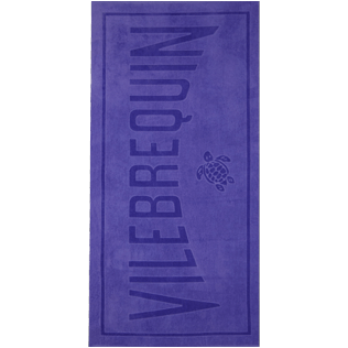 Others Solid - Beach Towel in terry cloth Solid Jacquard, Hyacinth front