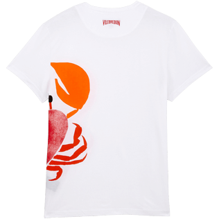 Others Printed - Unisex Cotton T-Shirt St Valentin 2020, White back
