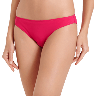 Women Classic brief Solid - Women Bikini Bottom Midi Brief Solid, Gooseberry red supp1