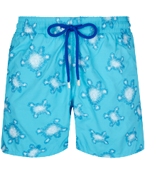 Men 017 Embroidered - Men Swim Trunks Embroidered - Limited Edition, Horizon front