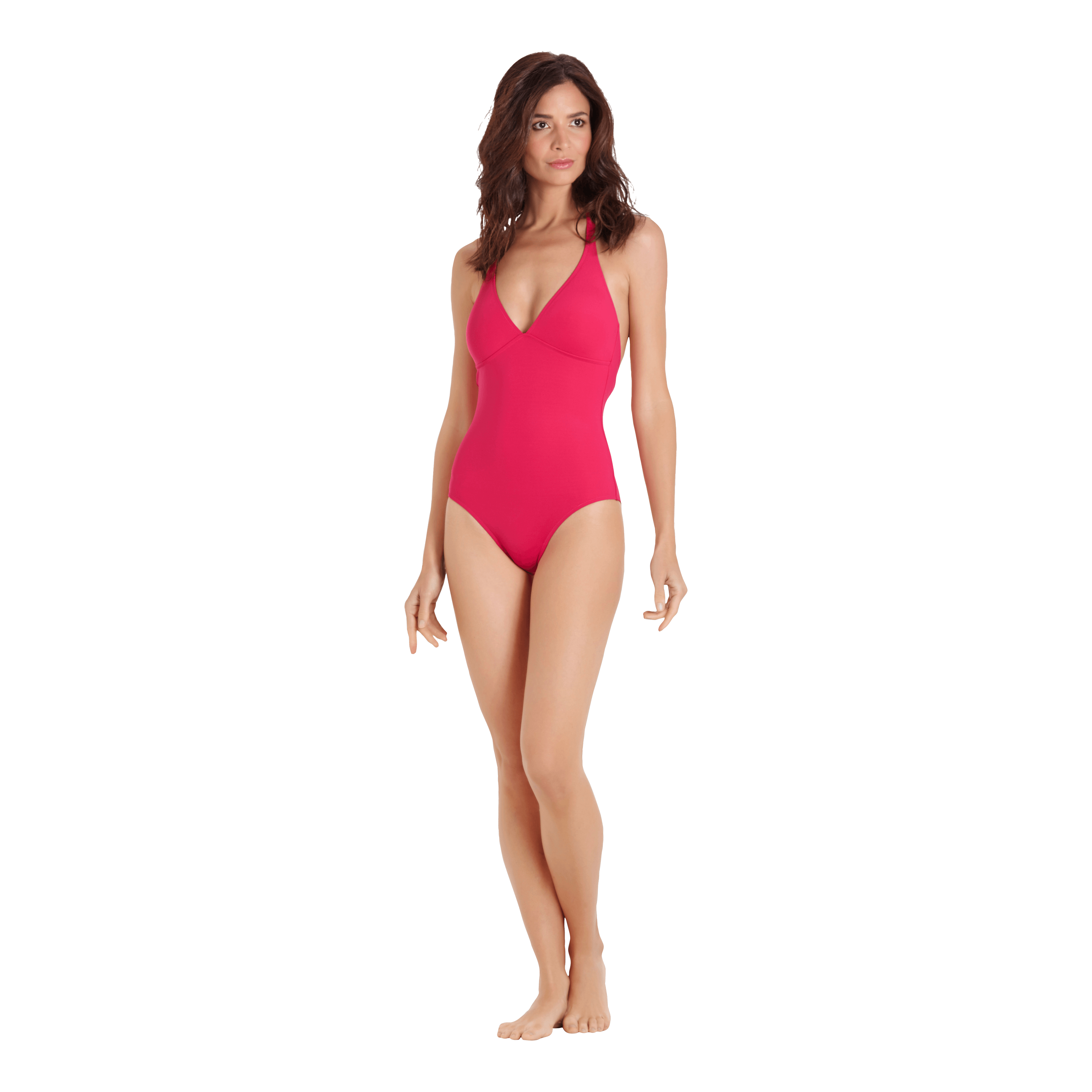 Vilebrequin Women Shaping One Piece Swimsuit Solid In Red