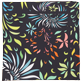 Altri Stampato - Foulard in seta Evening Birds, Nero back
