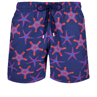 Men Classic Printed - Men Swim Trunks Starfish Dance, Sapphire front