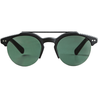 Sunglasses Solid - Unisex Sunglasses Khaki Mono Matt, Black front