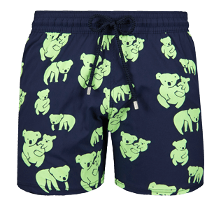 Men Stretch classic Printed - Men Glow in the dark Stretch Swimtrunks 6.7 Sydney, Navy front
