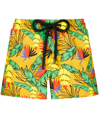 Women Others Printed - Women Swim Short Go Bananas, Curry front