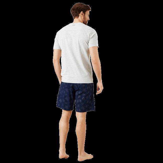Vilebrequin - Camiseta en punto de algodón Pima liso para hombre - 4