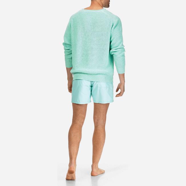 Vilebrequin - Men Cotton Linen Pullover Solid - 8