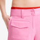 Women Others Solid - Women linen bermuda shorts solid - Vilebrequin x JCC+ - Limited Edition, Pink polka supp1