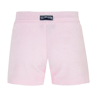 Girls Others Solid - Girls Terry Cloth Shortie Solid, Ballet shoe back