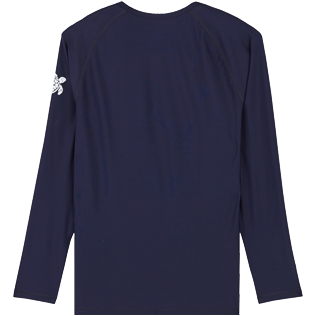 Men Others Solid - Men Rashguard Solid, Navy back