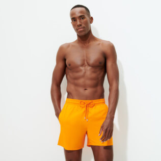 Men Ultra-light classique Solid - Men Swimwear Ultra-light and packable Solid, Safran supp1